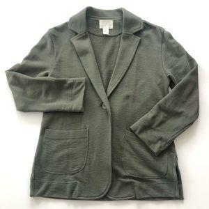 Caslon Jackets & Coats - Caslon Two Pocket Knit Blazer